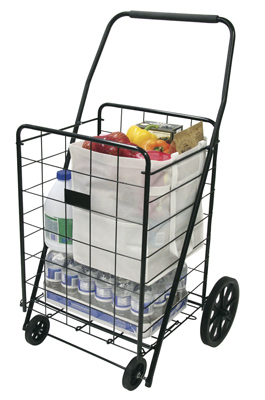 4WHL DLX Laundry Cart