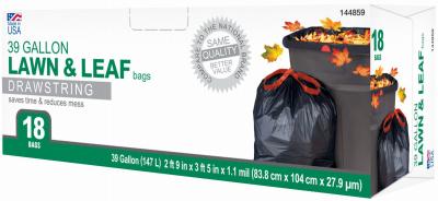 TV 18CT 39GAL Leaf Bag - Woods Hardware