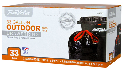 TV 33CT 33GAL Trash Bag - Woods Hardware