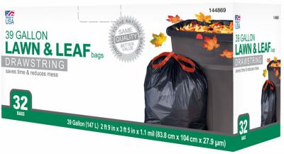 TV 32CT 39GAL Trash Bag
