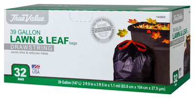 TV 32CT 39GAL Trash Bag - Woods Hardware