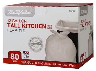 TV 80CT 13GAL Trash Bag - Woods Hardware