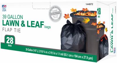 TV 28CT 39GAL Leaf Bag - Woods Hardware