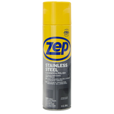 14OZ Zep SS Cleaner - Woods Hardware