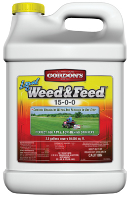 2.5GAL LIQ Weed/Feed