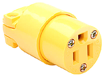 15A YEL HD Connector - Woods Hardware