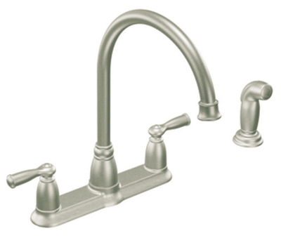 2Hand Arc Kitch Faucet