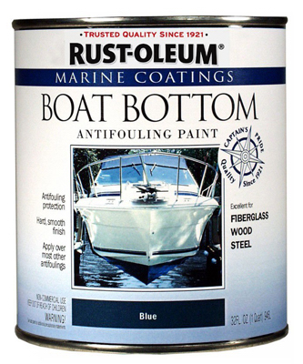 QT BLU Boat Bott Paint