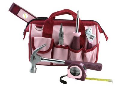 7PC Pink Tool Kit
