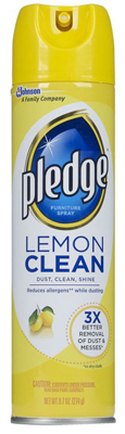9.7OZ Lemon Pledge - Woods Hardware