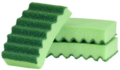 3PK HD Scrubber Sponge