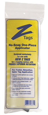 1PC BLK ZTag Applicator