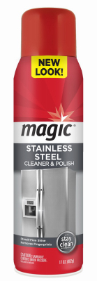Magic 17OZ SS Cleaner - Woods Hardware