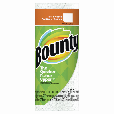 Bounty WHT Paper Towel - Woods Hardware