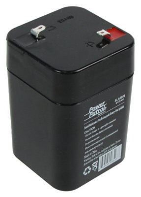 6V 5A Lead Acid Battery