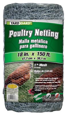 """18""""x150 1"""" Poultry Net"""