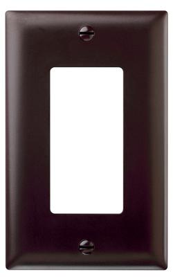 BRN 1G Decor Wall Plate - Woods Hardware