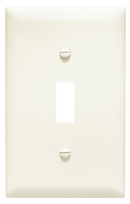 ALM 1G 1Tog Wall Plate - Woods Hardware