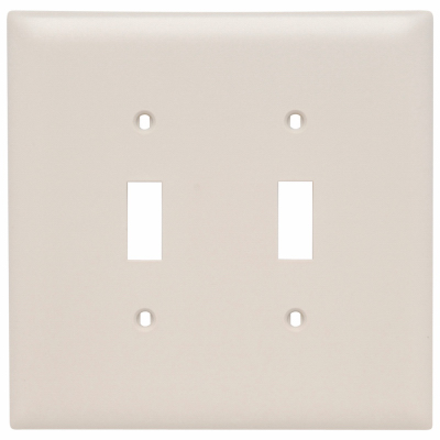 ALM 2G 2Tog Wall Plate - Woods Hardware