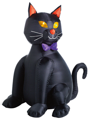 "48"" Inflatable BLK Cat"