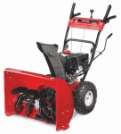 Yard Machines Gas Snow Blower, 2 Stage, 208cc Engine,24-In. Path