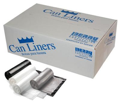 100CT 45GAL CLR Liner