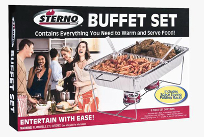 8PC Sterno Buffet Set