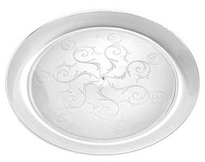 "20CT 6"" CLR Plas Plate"