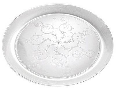 "20CT 9"" CLR Plas Plate"