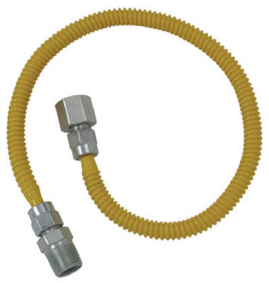 """60"""" SS Gas Connector"""