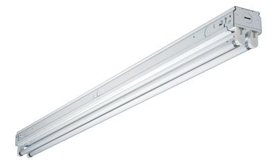 4' 2Lamp T8 Res Light - Woods Hardware