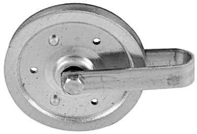"""4"""" Galv Pulley/Fork"""