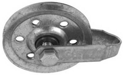 """3"""" Galv Pulley/Fork"""
