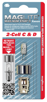 2 C/D Mag Xenon Lamp - Woods Hardware
