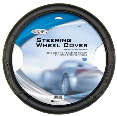 BLK Steer WHL Cover