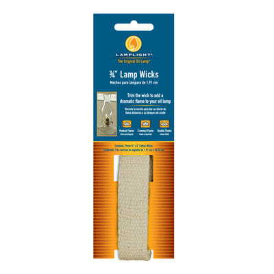 3PK 3/4' Cotton Wick - Woods Hardware