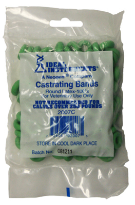100CT Castration Bands