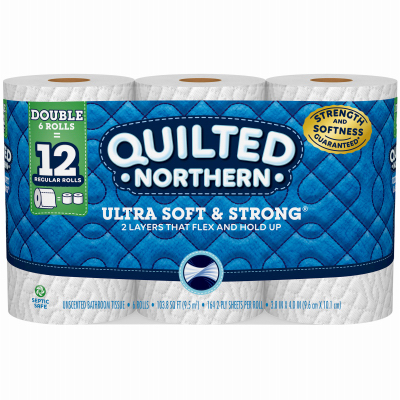 Quilted 6PK DBL Tissue - Woods Hardware