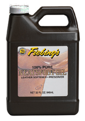 32OZ 100% NeatsFoot Oil