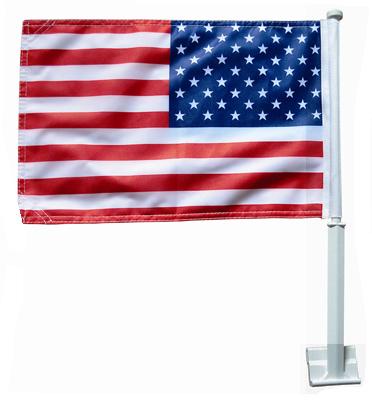 11x18 US Car Flag