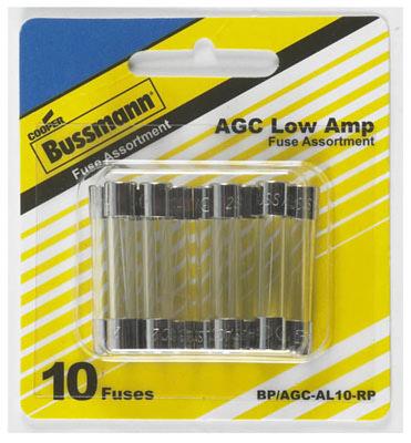 10PC Low Amp Fuse