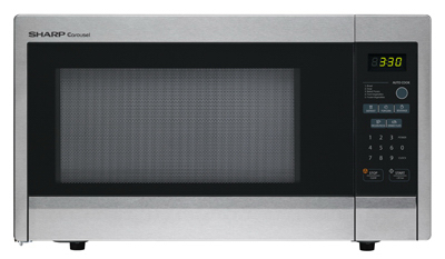 1.1CUFT 1000W Microwave