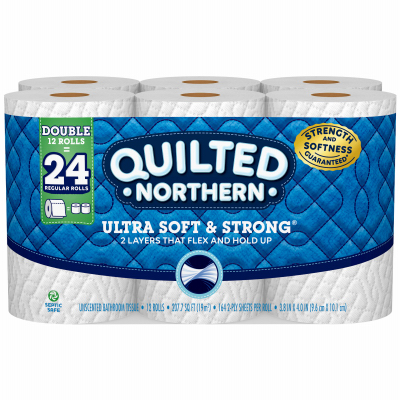 Quilted 12PK DBL Tissue - Woods Hardware