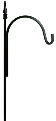 "90"" NI Finial Hook"
