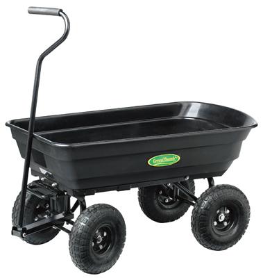 GT Poly Dump Cart