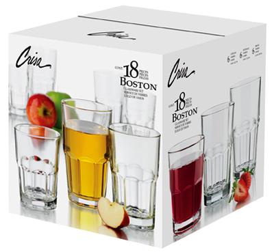18PC Boston Bev Set