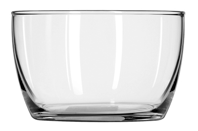 16OZ Glass Bowl/Lid