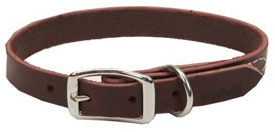 3/4x18 LTHR Dog Collar