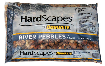 .5CUFT River Pebbles - Woods Hardware