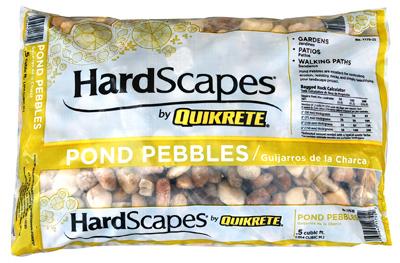 .5CUFT Pond Pebbles - Woods Hardware